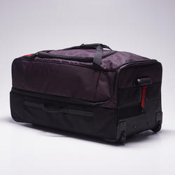 Classic 105L Rolling Bag - Grey/Red