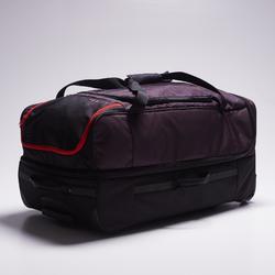 Bolsa con ruedas Classic 105 litros gris rojo