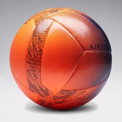 Ballon de Foot5 Society 100 taille 4 Orange / Noir