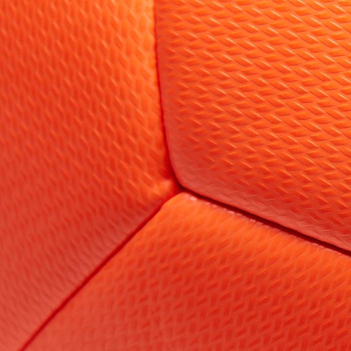 Ballon de Foot5 Society 100 taille 4 Orange / Noir