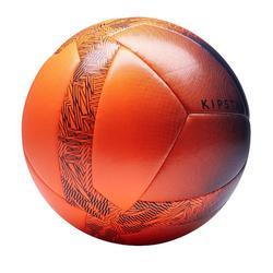 Voetbal 5-a-side, Society 100 hybride maat 4 oranje / zwart