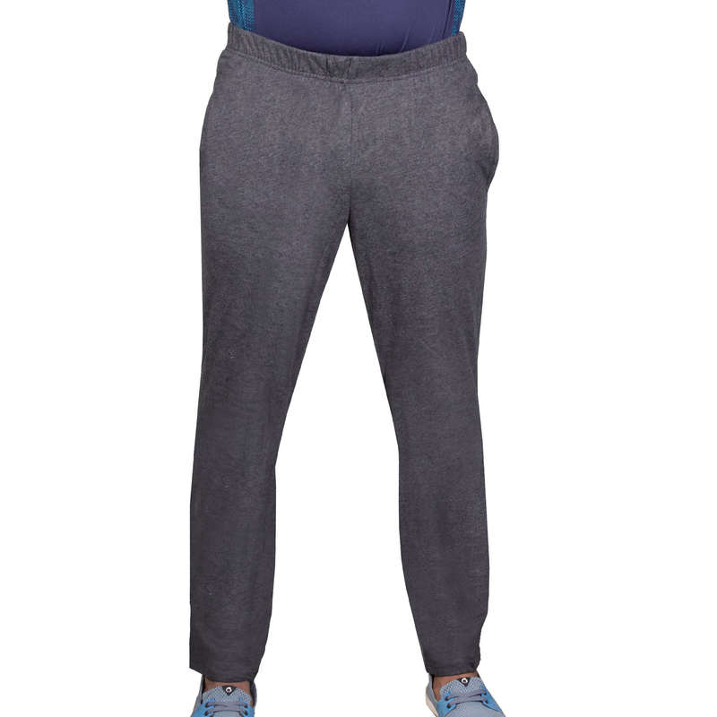 МУЖСКИЕ БРЮКИ ‒ КУРТКИ ‒ ТОЛСТОВКИ Одежда - Брюки прямые 100 Gym муж. NYAMBA - Низ