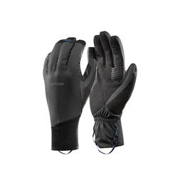 Trek 900 Adult Mountain Trekking Windproof Gloves - Grey