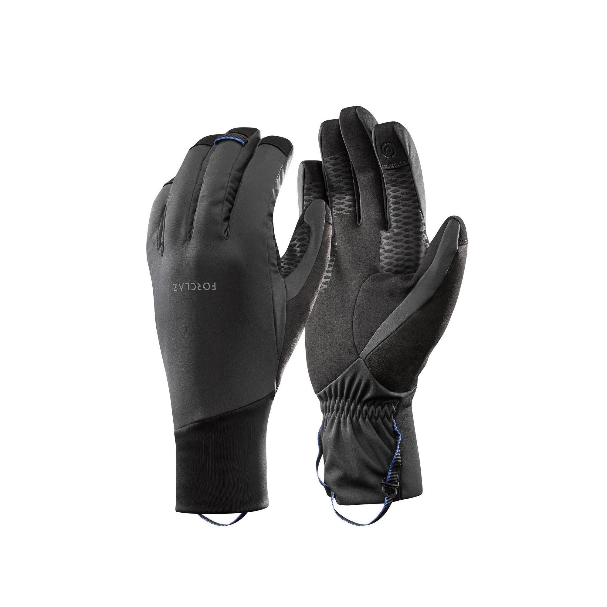 Forclaz Winddichte handschoenen voor bergtrekking Trek 700 volwassenen grijs