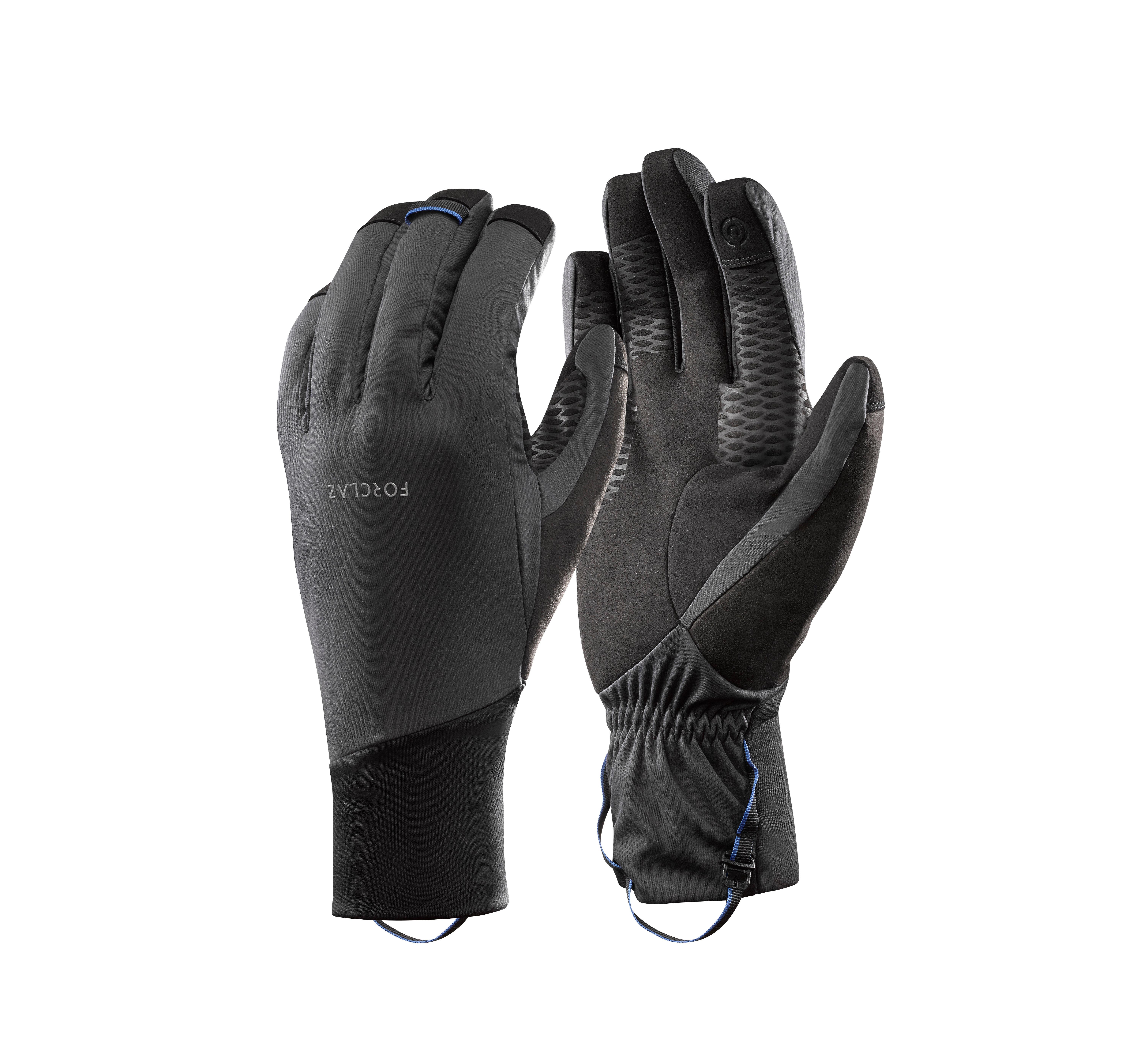 Trek 700 Adult Mountain Trekking Gloves - Grey