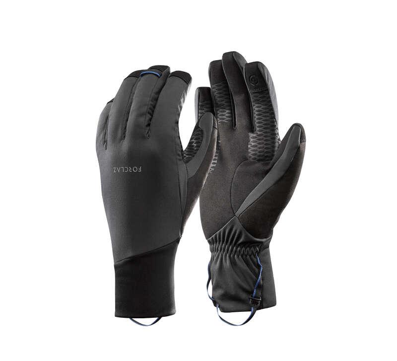 GLOVES, UNDERGLOVES, MITTENS HIKING/TREK Trekking - Trek 900 Windproof CBG Gloves FORCLAZ - Trekking