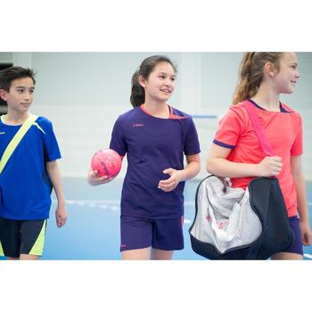 Handbalshirt meisjes H100 paars