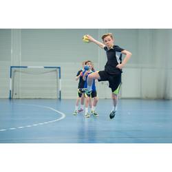 Handbalshirt voor kinderen H100 marineblauw / geel