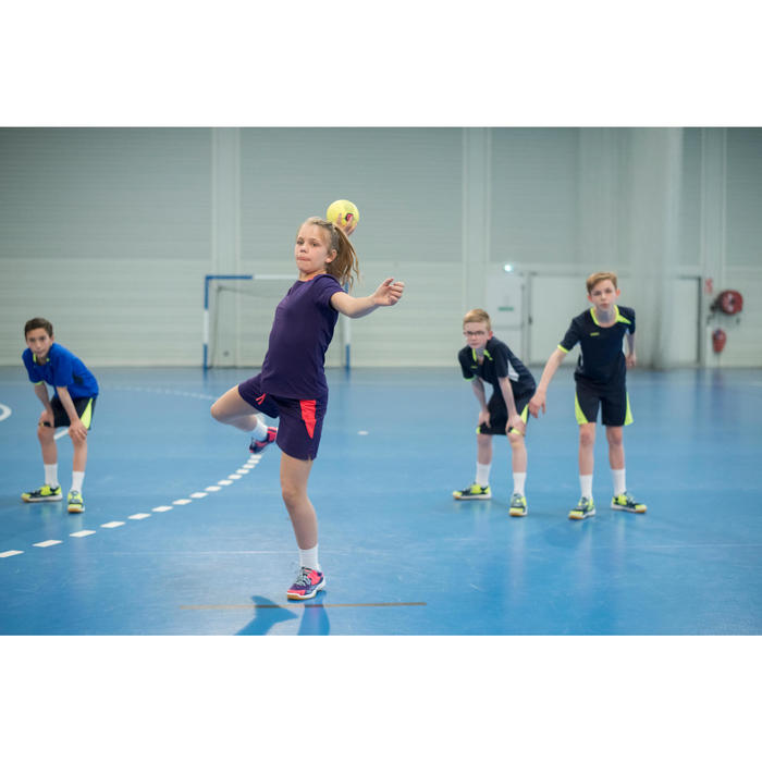 Handbalshort H100 meisjes violet - 1484733