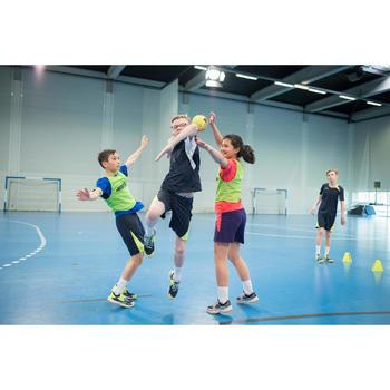 Chaussures de Handball H100 fille avec lacets violettes et roses - 1484742