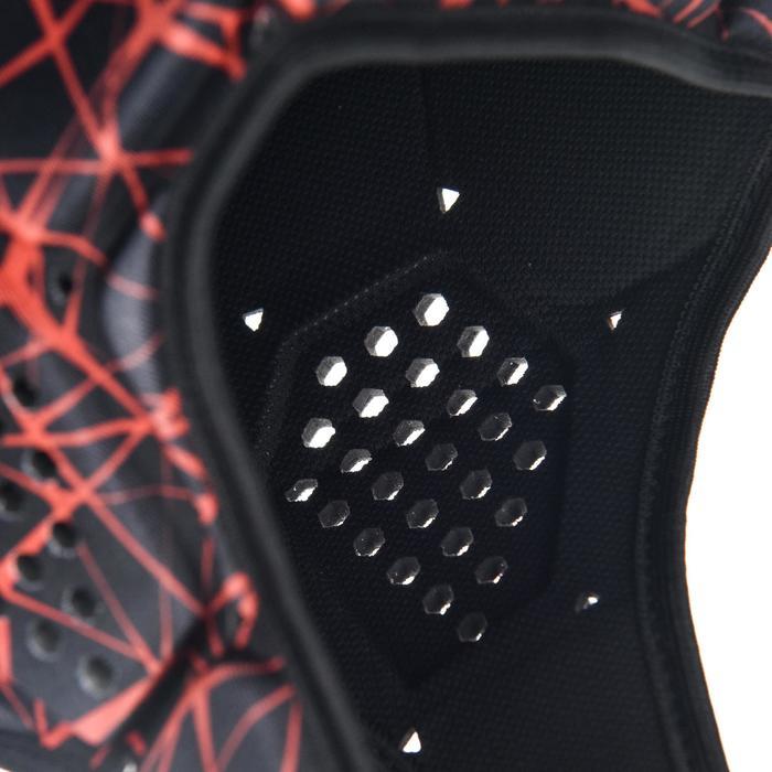 Kopfschutz Rugby R500 schwarz/rot
