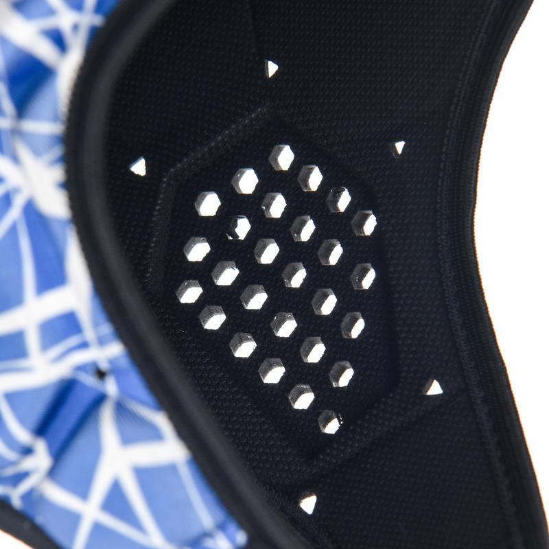 หมวกรักบี้สำหรับเด็กรุ่น 500 (สีน้ำเงิน/ขาว)