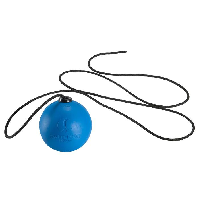"Balle de Speedball ""TURNBALL FAST BALL"" Caoutchouc Bleue - 148491"