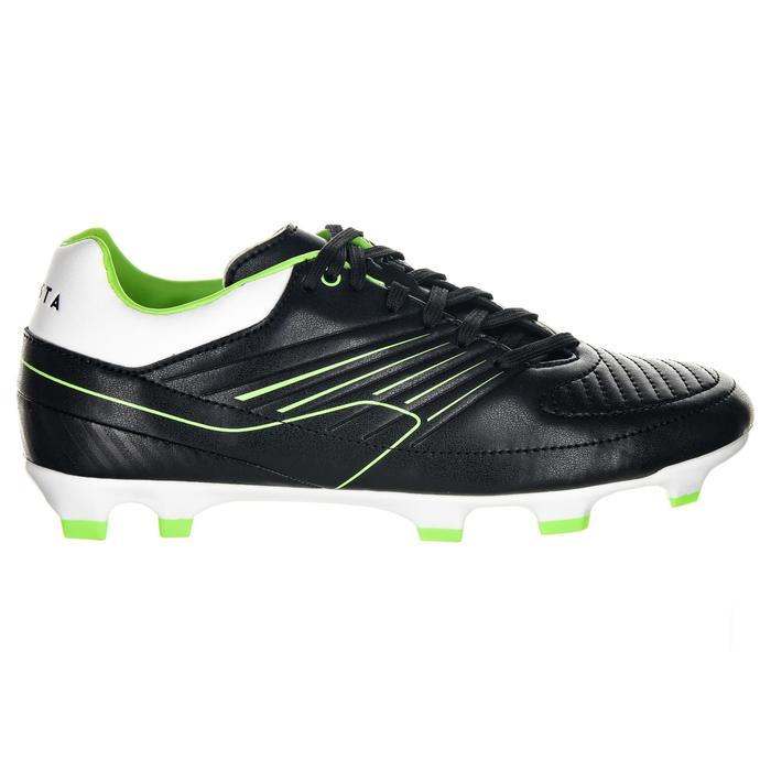Crampons rugby enfant terrains secs Skill 500 FG noir vert