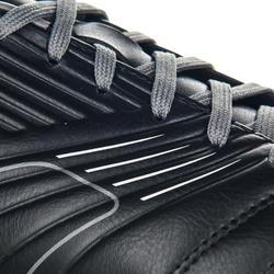 Rugbyschoenen voor drassig terrein kinderen 6 losse noppen Agility R500 SG grijs