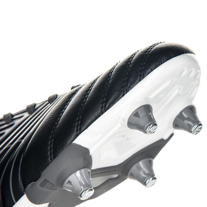 Crampons de rugby enfant terrains gras Agility 500 SG grise