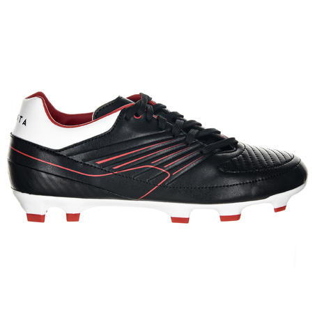 Kids' Moulded Rugby Boots Skill R500 FG - Red