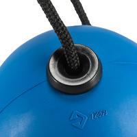 Turnbola, spīdbola ātra gumijas bumba, zila