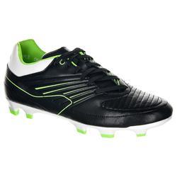 Rugbyschoenen Skill 500 FG zwart/groen (kinderen)