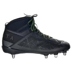 Chaussures rugby adulte 8 crampons Density R900 SG noir