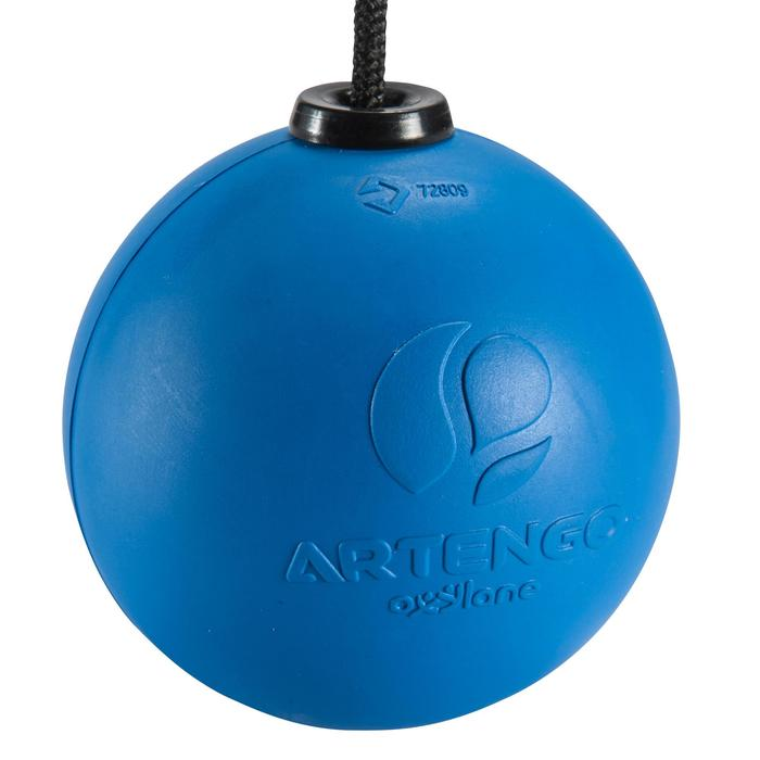 "Balle de Speedball ""TURNBALL FAST BALL"" Caoutchouc Bleue - 148498"