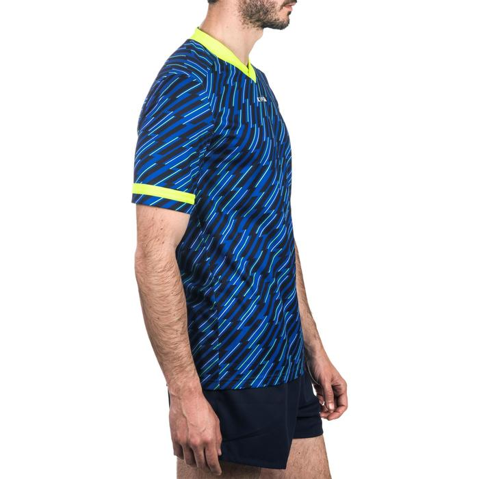 Camiseta rugby adulto R100 azul
