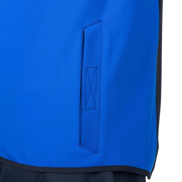Sudadera de entrenamiento de rugby R500 adulto azul