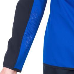 Sweat entraînement rugby R500 adulte bleu
