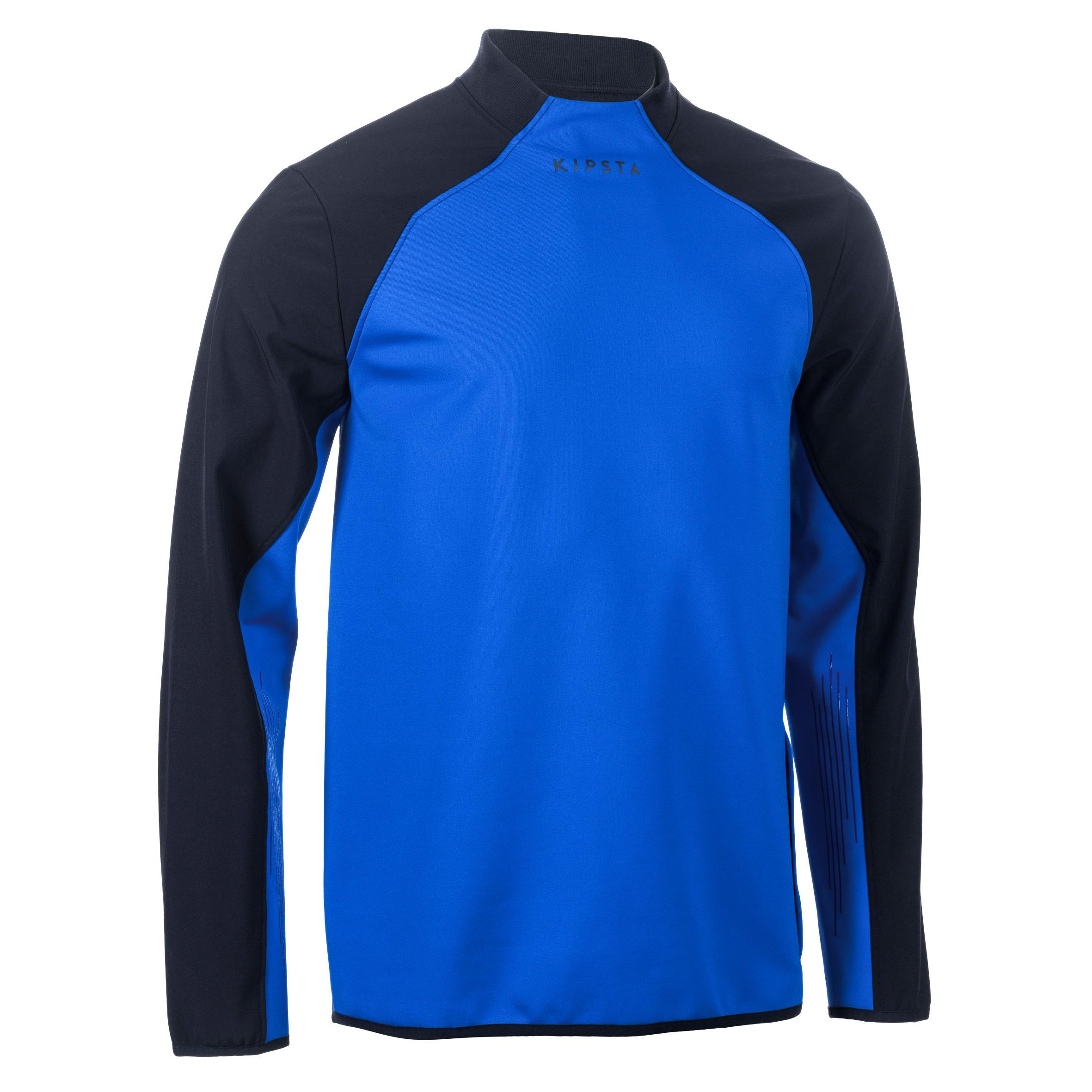Offload Trainingsweater voor rugby R500 volwassenen blauw