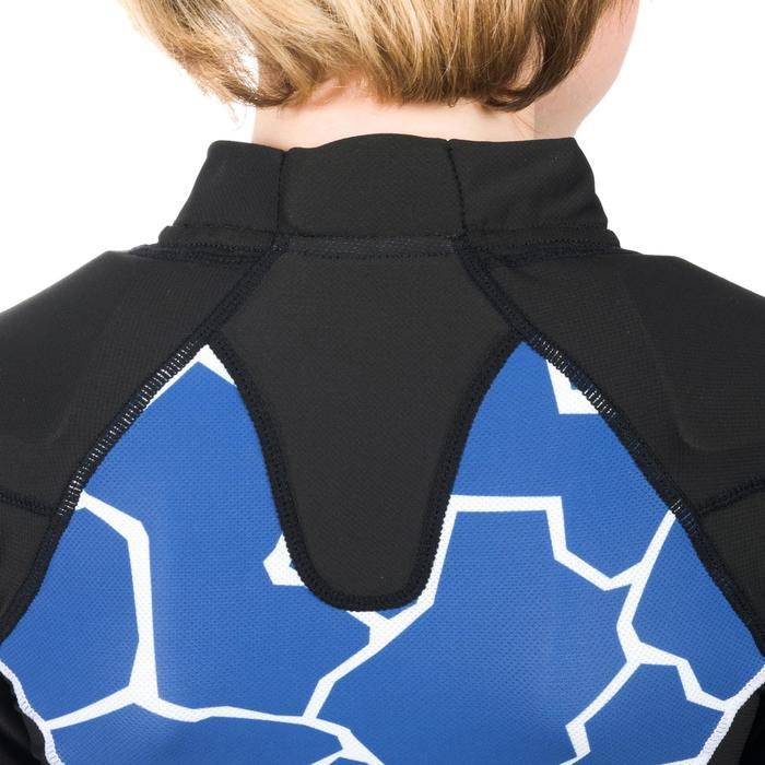 Kids' Rugby Shoulder Pads R100 - Turtle Blue