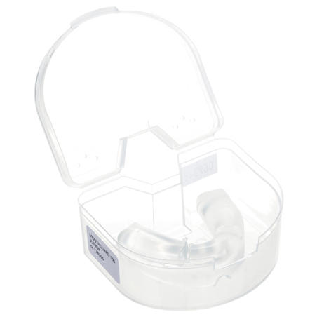 Kids' Size S Transparent Rugby Mouthguard R100