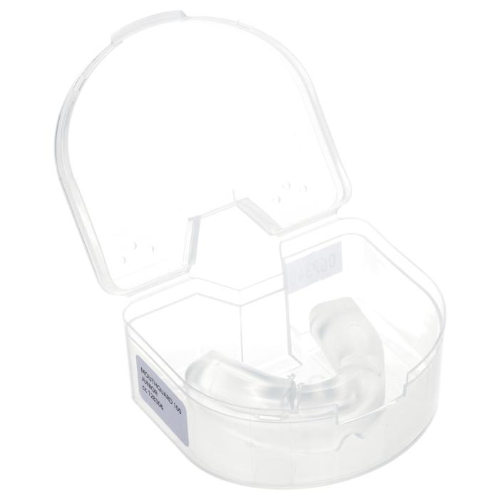 Protector dental de rugby júnior R100 transparente
