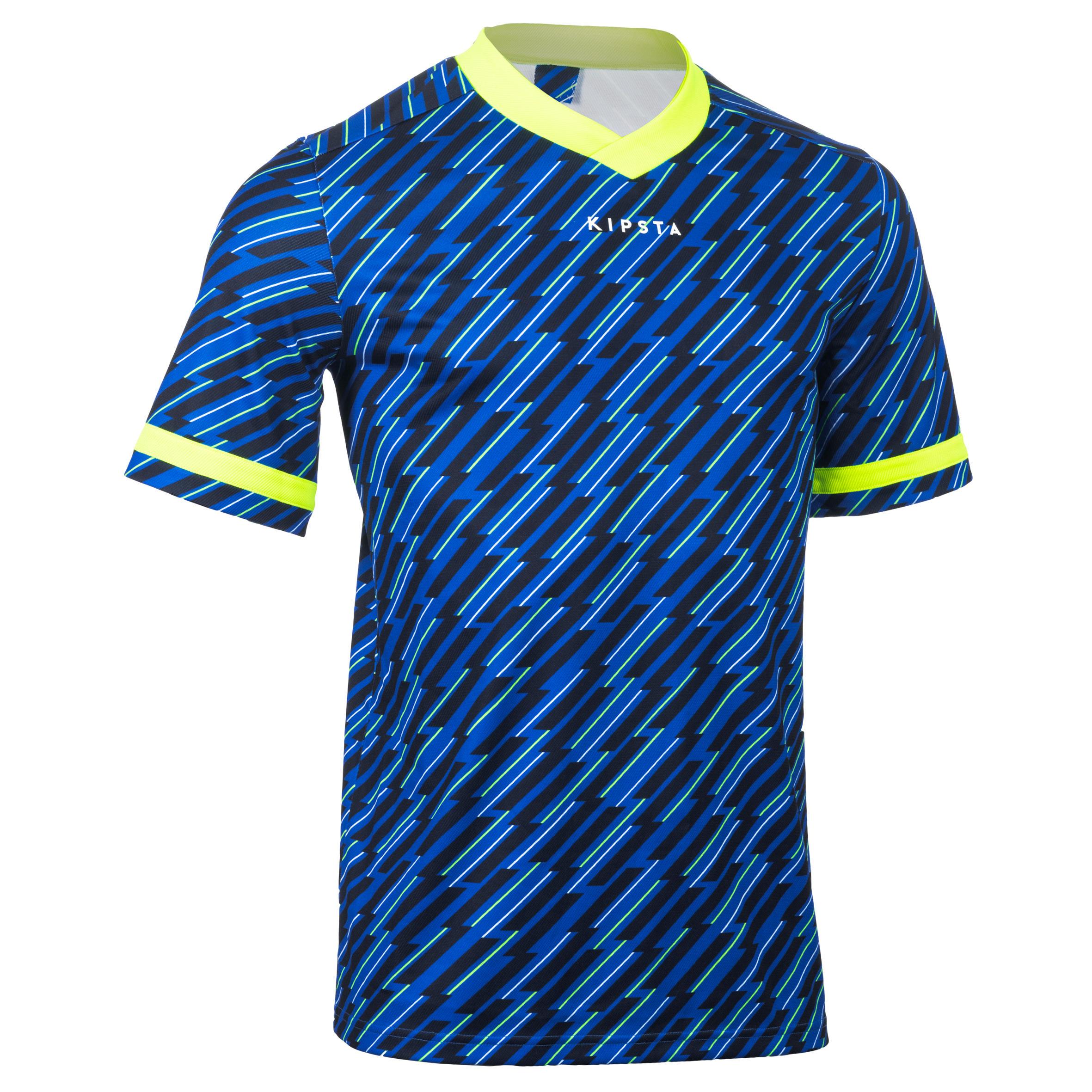 Offload Rugbyshirt voor volwassenen R100 blauw