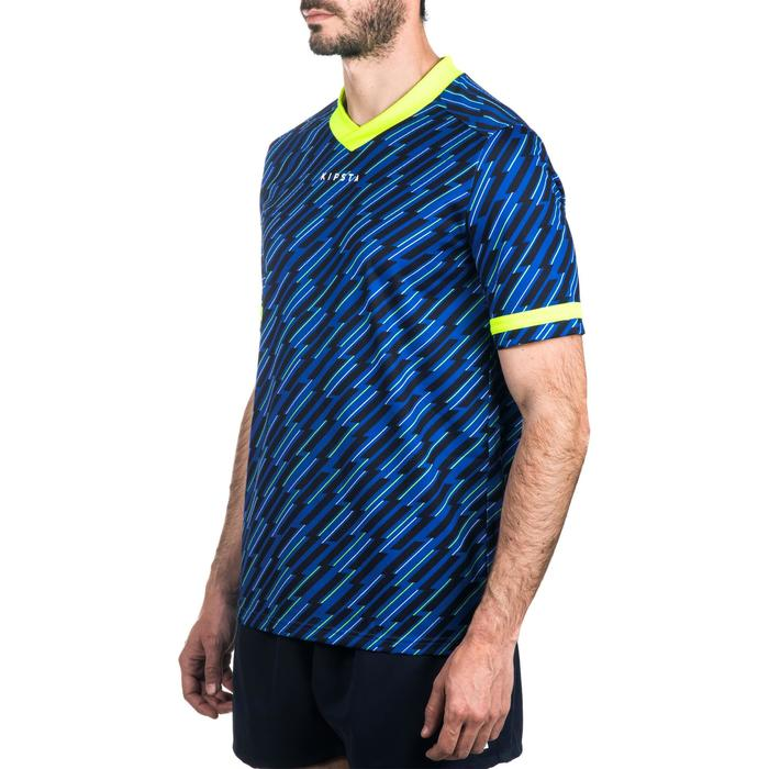 Maillot rugby adulte R100 bleu