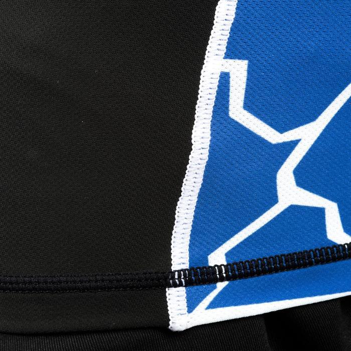 兒童款英式橄欖球肩胸墊R100- 龜殼藍