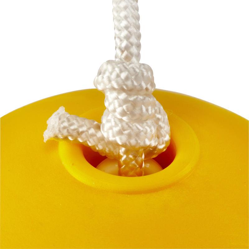 Pelota de Speedball _QUOTE_TURNBALL SLOW BALL_QUOTE_ espuma amarilla