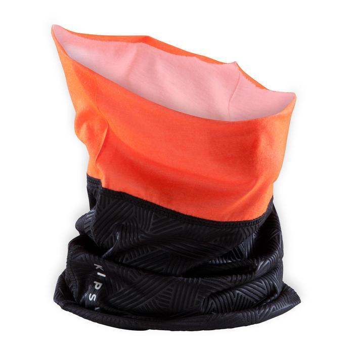 Nekwarmer Keepdry 500 fluo-oranje en zwart