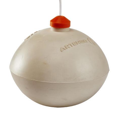 """TURNBALL PERF BALL"" Speedball Ball - White Rubber"