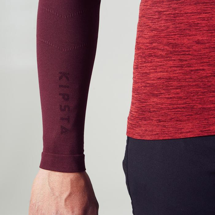 Keepdry 500 Adult Breathable Long Sleeve Base Layer - Burgundy Gradient