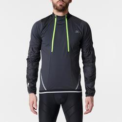 Shirt met lange mouwen Evolutiv traillopen heren zwart geel