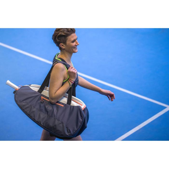 Tennistasche Schlägertasche SB 160 grau/weiß