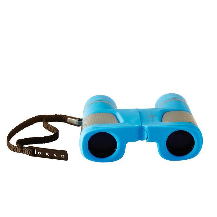 Jumelles randonnée enfant grossissement x6 sans réglage bleues - 148569