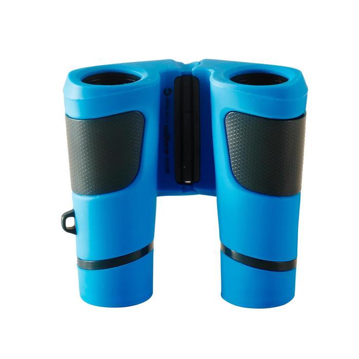 Jumelles randonnée enfant grossissement x6 sans réglage bleues - 148574