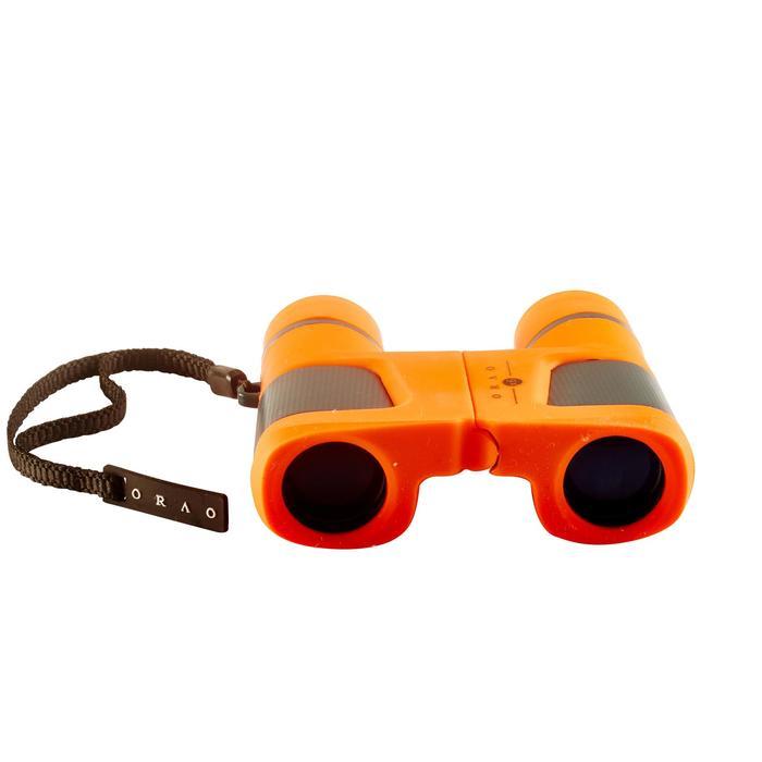 Jumelles randonnée enfant grossissement x6 sans réglage orange - 148589