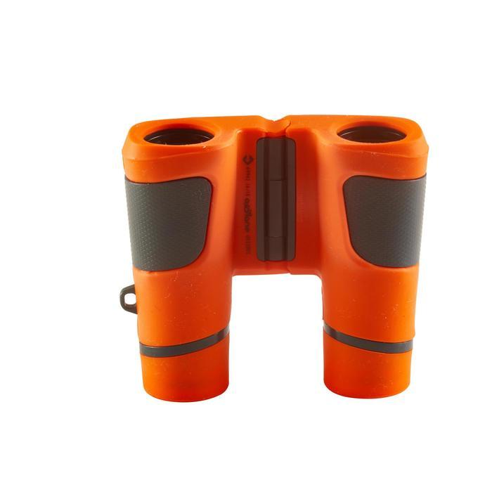 Jumelles randonnée enfant grossissement x6 sans réglage orange - 148596