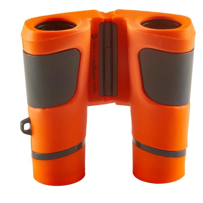 Jumelles randonnée enfant grossissement x6 sans réglage orange
