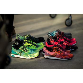 Chaussures de marche athlétique RW 900 violet et orange