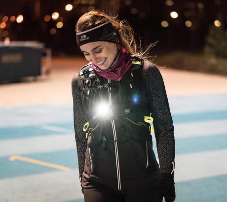 équipement nuit hiver marche athlétique
