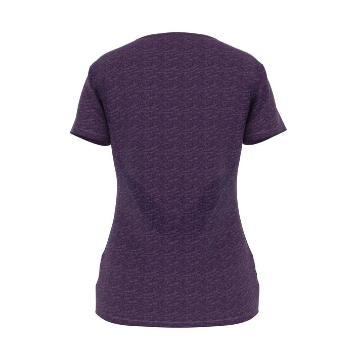T-shirt 500 regular Gym & Pilates femme violet