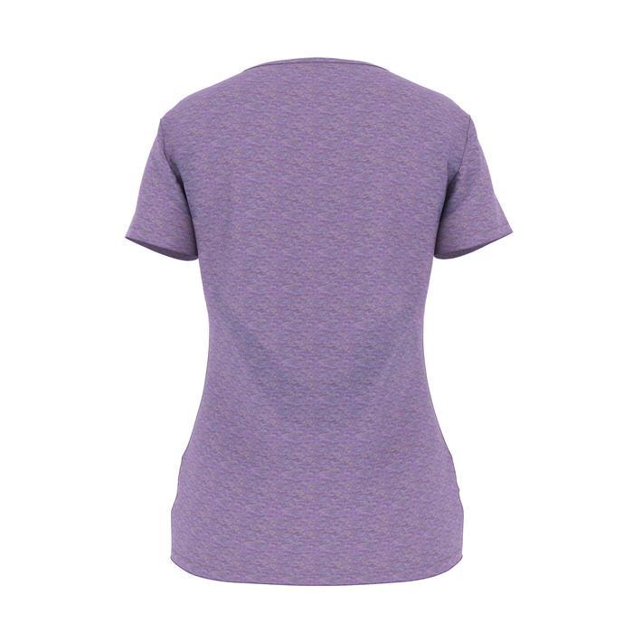 T-Shirt 500 régular manches courtes Gym & Pilates femme chiné - 1486177